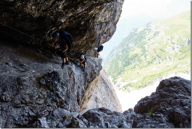 Keeping low (Dolomitten ohne Grenzen 2019)