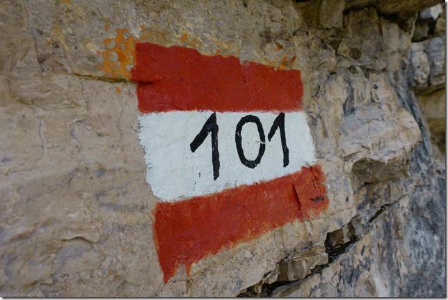 Route 101 (Dolomitten ohne Grenzen 2019)