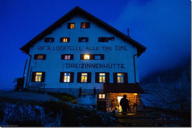 The Drei Zinnen Huette (Dolomitten ohne Grenzen 2019)