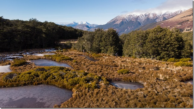 Frozen tarns (Bealy Spur)