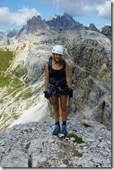 Julie and dolomites (Dolomitten ohne Grenzen 2019)