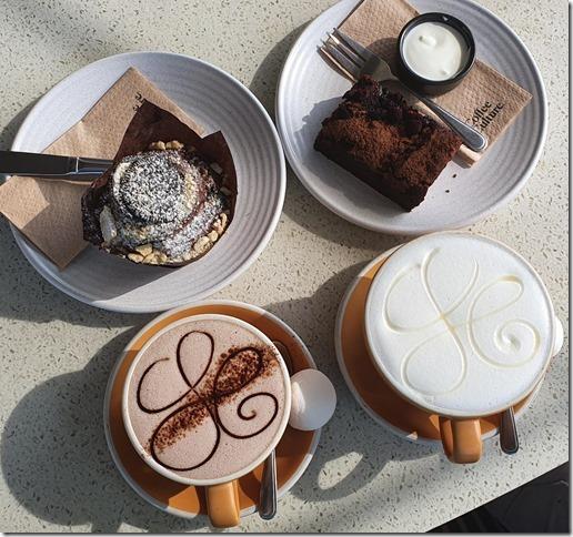 Delicious cafe treats (Ari visits 2020)