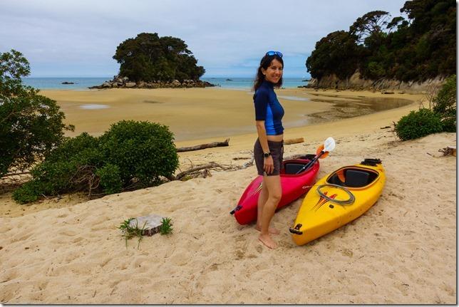 At Mosquito Bay (Ari visits 2020)