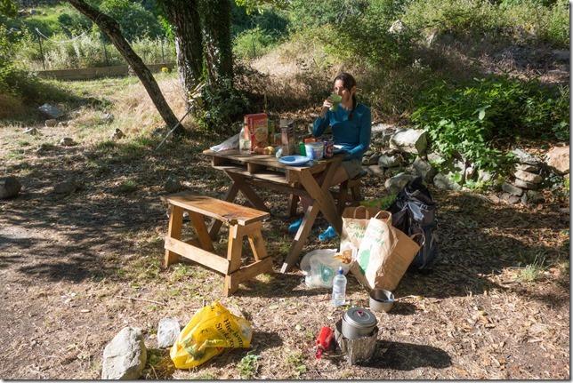 Breakfast time (Corsica)