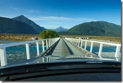 Crossing Mt White Bridge (Ari visits 2020)