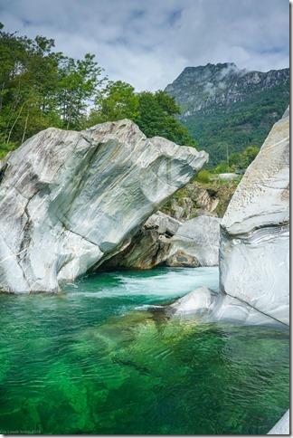 Green river (Walks in Ticino Sept 2018)