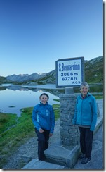 Leonie and Mum at the pass (Walks in Ticino Sept 2018)