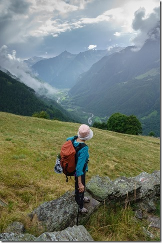 Looking back down (Walks in Ticino Sept 2018)