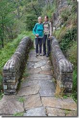 Mum and Leonie (Walking in Ticino)