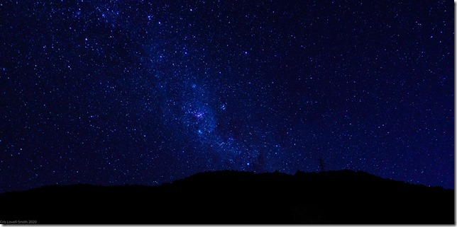 Night sky (Ari visits 2020)
