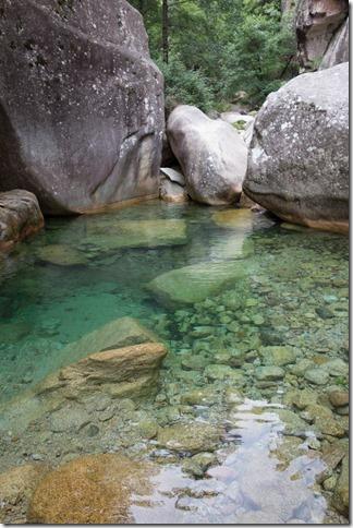 Pretty water (Corsica)