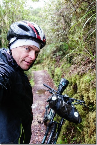 Riding out in the rain (MTB Heaphy Oct 2020)