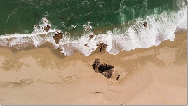 Scotts beach from above (Ari visits 2020)