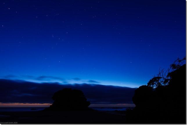 Stars at night (Ari visits 2020)