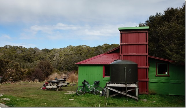 The Gouland Downs Hut (MTB Heaphy Oct 2020)
