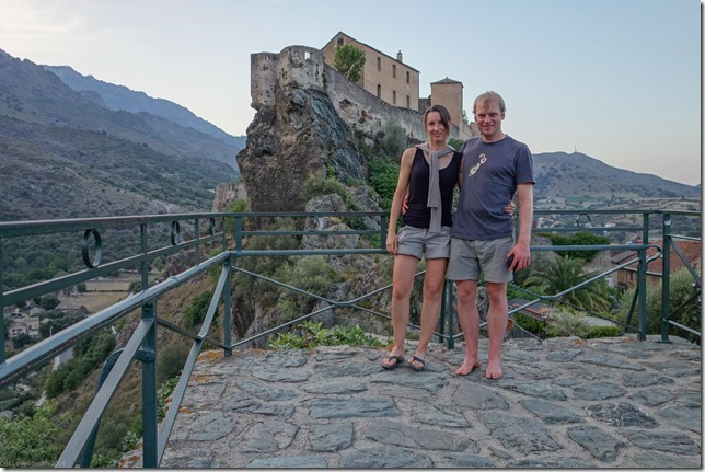 Us in the evening (Corsica 2014)