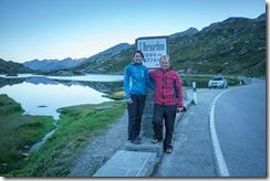 Us on San Bernardino Pass (Walks in Ticino 2018)