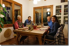 Dinner in the evening (Visiting Catalonia May 2017)