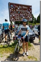 Leonie at Wuerzjoch (Giro delle Dolomiti 2019)