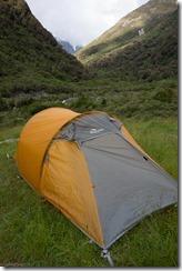 Macpac tent (Tramping Ice Lake Dec 2015)