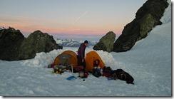 Time to get up (Tramping Ice Lake Dec 2015)