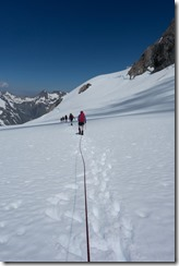 Walking on the Neish Plateau (Tramping Ice Lake Dec 2015)