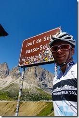 At Sellajoch (Giro delle Dolomiti 2019)