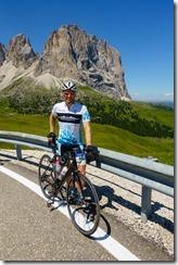 Cris at Sellajoch (Giro delle Dolomiti 2019)