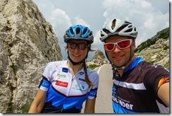 Leonie and Cris (Giro delle Dolomiti 2019)