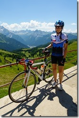Leonie at Sellajoch (Giro delle Dolomiti 2019)