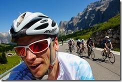 Nearing Sellajoch (Giro delle Dolomiti 2019)