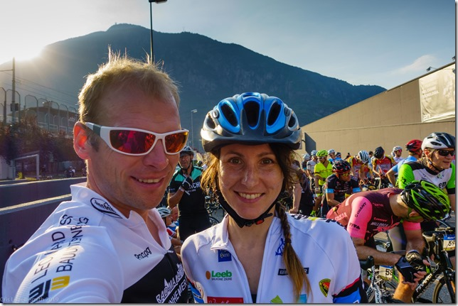 Stage 3 start (Giro delle Dolomiti 2019)