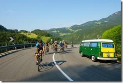 Going up (Giro delle Dolomiti 2019)