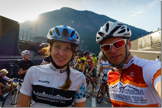 Us at the start line again (Giro delle Dolomiti 2019)