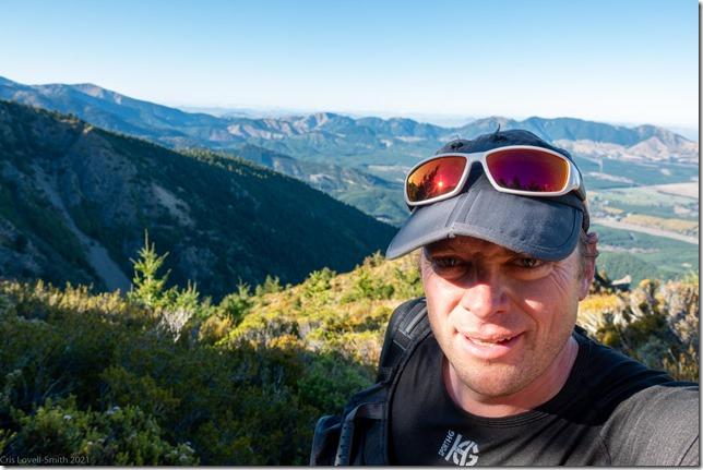 Posing (Mt Isobel Challenge 2021)