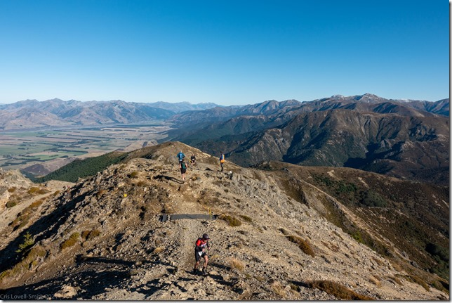 Running back down (Mt Isobel Challenge 2021)