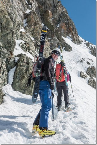 Starting to get serious (Ski touring Avers March 2019)