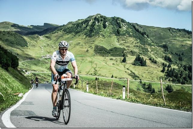 Cris at Furkajoch (Highlander Radmarathon 2017)