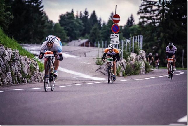 Descending from Bödele (Highlander Radmarathon 2017)