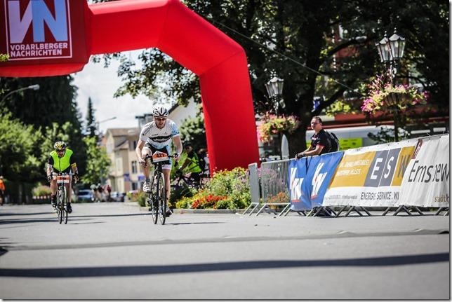 Finishing (Highlander Radmarathon 2017)