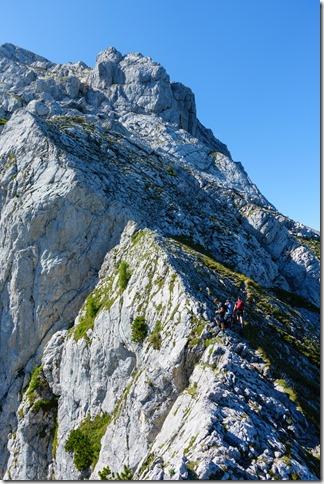 On the ridge (Hochkalter Aug 2019)