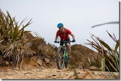 Caspar cranking (Mountain biking Paparoa Track Oct 2021)