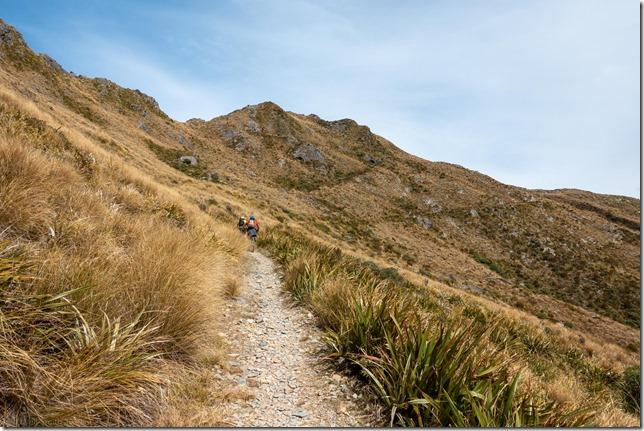 Riding up from the Ces Clark Hut (Mountain biking Paparoa Track Oct 2021)